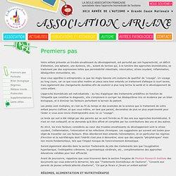 Association Ariane - Autisme - Premiers pas