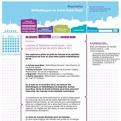 Liseuses & Tablettes numériques : Une expérience pilote de prêts dans le 93 !