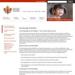 L'Association dentaire canadienne : Votre santé buccodentaire