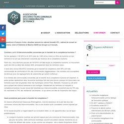Profiter de la Loi NOTRe pour construire la compétence tourisme - Association des Directeurs Généraux des communautés de France