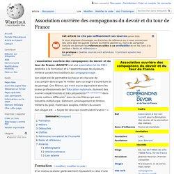 Association ouvrière des compagnons du devoir et du tour de France