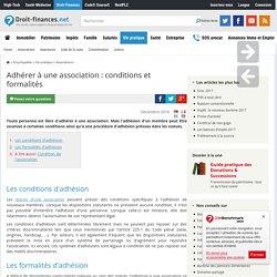 Adhérer à une association : conditions et formalités