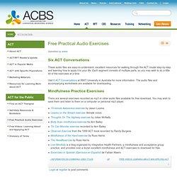 Free Practical Audio Exercises