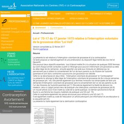 Association Nationale des Centres d'IVG et de Contraception