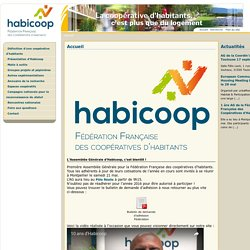 Association HABICOOP - Coopératives d'habitants