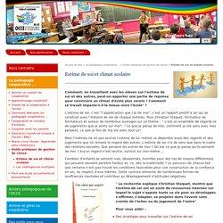 Estime de soi et climat scolaire - Site de l'Association Départementale du Tarn-et-Garonne