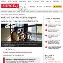 Foix. Une nouvelle association pour promouvoir les déplacements propres