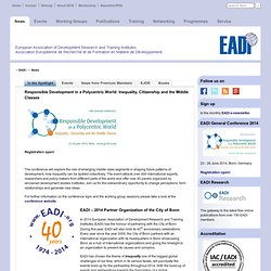 European Association of Development Research and Training Institutes