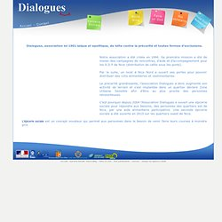 Association Dialogues - Epicerie Sociale - Chantier d'insertion