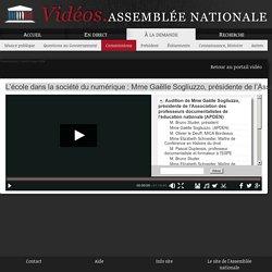 L'école dans la société du numérique : Mme Gaëlle Sogliuzzo, présidente de l'Association des professeurs documentalistes de l'éducation nationale (APDEN) - Jeudi 8 mars 2018