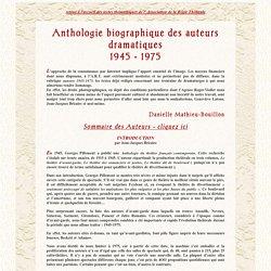 Biographie des auteurs dramatiques - La régie théâtrale