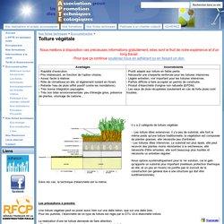 Toiture végétale - Association pour la Promotion des Techniques Ecologiques
