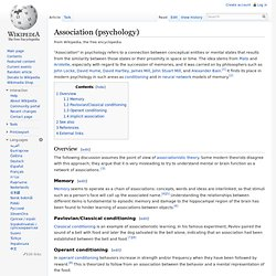 Association (psychology)