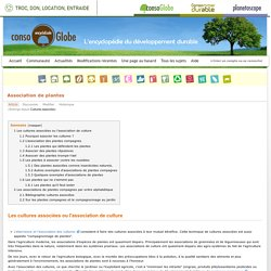 Association de plantes - Encyclo-ecolo.com - l'encyclopédie écologique