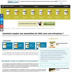 Coupler une association loi 1901 et une entreprise - Aide juridique association en ligne gratuite