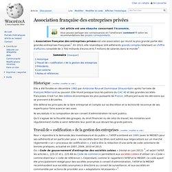 Association française des entreprises privées