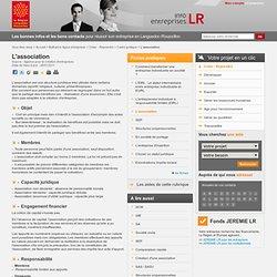 L'association / Cadre juridique / CREER REPRENDRE