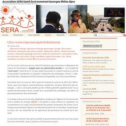 ASSSOCIATION SERA SANTE ENVIRONNEMENT AUVERGNE RHONE ALPES 07/01/21 L'Eco-score s'annonce après le Nutriscore