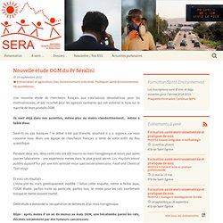 Association Santé-Environnement en Rhône-Alpes 19/09/12 Nouvelle étude OGM du Pr Séralini