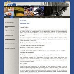 Association Européenne pour la Défense des Droits de l'Homme