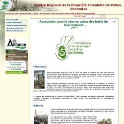 Association pour la mise en valeur des forêts du Sud-Charente
