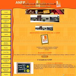 Association Nationale des Formateurs en Pâtisserie (ANFP)