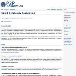 Liquid Democracy Association