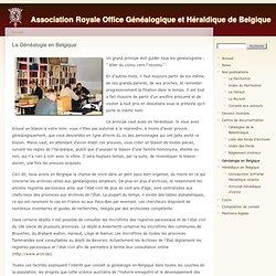 Association Royale Office Généalogique et Héraldique de Belgique