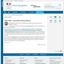 EMC/EMI : Association Remembeur-Histoire-géographie-Éduscol