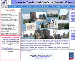 Association des Habitants du Quartier Jouvenet