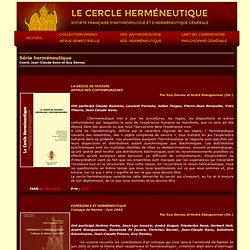 Association Le Cercle Herméneutique