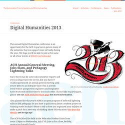 Association for Computers and the Humanities