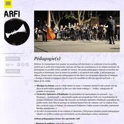 Arfi, Association à la Recherche d'un Folklore Imaginaire, Collectif jazz