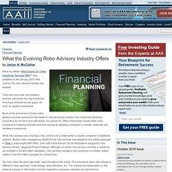 The American Association of Individual Investors