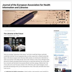 Journal of the European Association for Health Information and Libraries