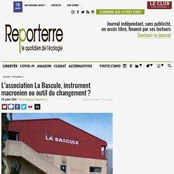 L'association La Bascule, instrument macronien ou outil du changement?