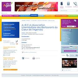 A.I.R.C.A.(Association Intermédiaire des Restaurants du Cœur de l'Agenais)