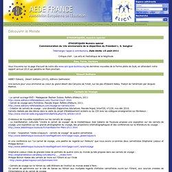 AEDE FRANCE - Association Européenne de l'Education - International - Découvrir le Monde
