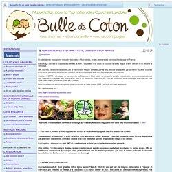 Bulle de coton: couche lavable, association promotion de couches lavables, bébé, lange naturel, location, concours, semaine internationale des couches lavables