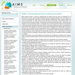 AIMS Association Internationale de Management Strategique - Actes de conférences