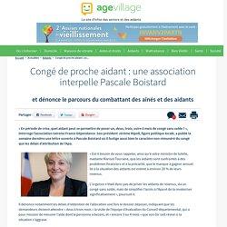 Congé de proche aidant : une association interpelle Pascale Boistard - 23/01/17