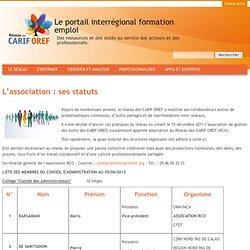 Le portail interrégional formation emploi