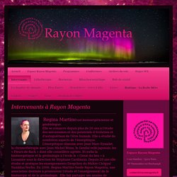 association Rayon Magenta - Intervenants
