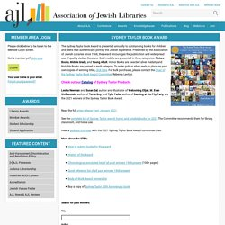 Association of Jewish Libraries - Sydney Taylor Book Award