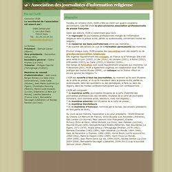 Association des journalistes d'information religieuse