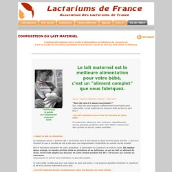 Association Des Lactariums de France - ADLF - Human Milk Bank French Association