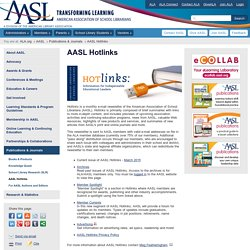 AASL Hotlinks