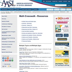 Math Crosswalk - Resources | American Association of School Librarians (AASL)