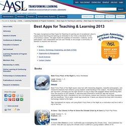 Best Apps for Teaching & Learning 2013