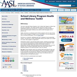 School Library Program Health and Wellness Toolkit (AASL)